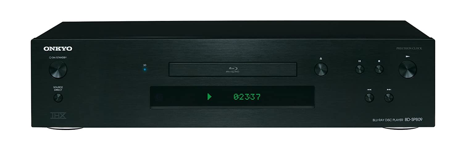 Onkyo BD-SP809 - Reproductor de DVD y Blu-ray portátil color negro
