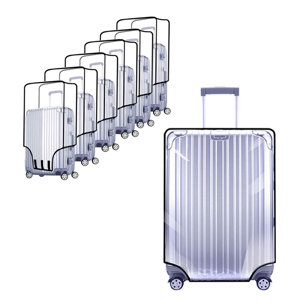 PVC Luggage Protector Cover Clear Suitcase Cover Protector Fit Most 20'' to 30'' Luggage (28inch) by YouChangBest