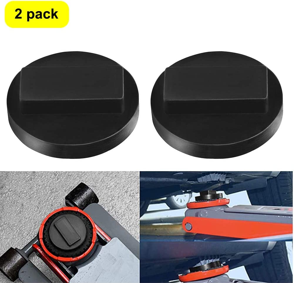 XuSha Jack Pad for BMW /& Mini Square Polyurethane Rubber Frame Rail Protector Jack Pad Adapter 1 Pack