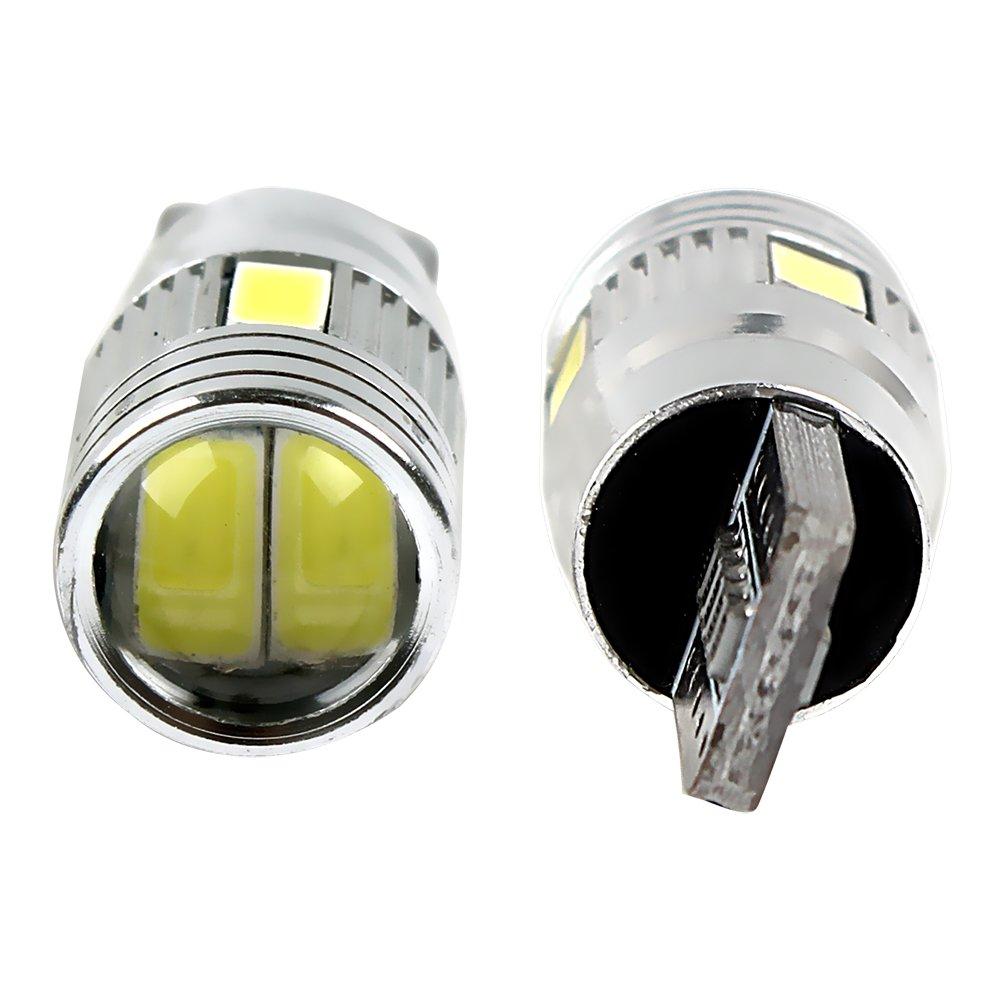luz LED T10 6SMD Luz para matr/ícula de coche