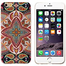 Sannysis Leaves Combination Soft TPU Cover For iPhone 6 Plus