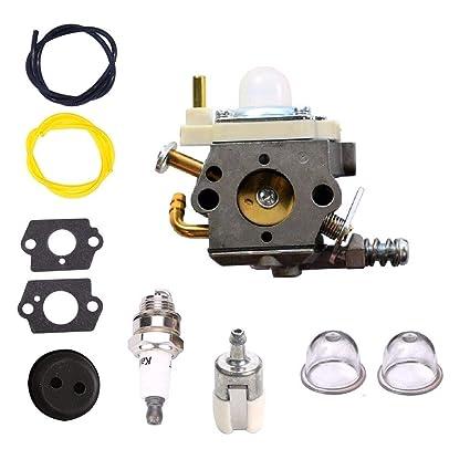 MXJEEIO- Kit de carburador para Motor de desbrozadora y Echo WTA ...