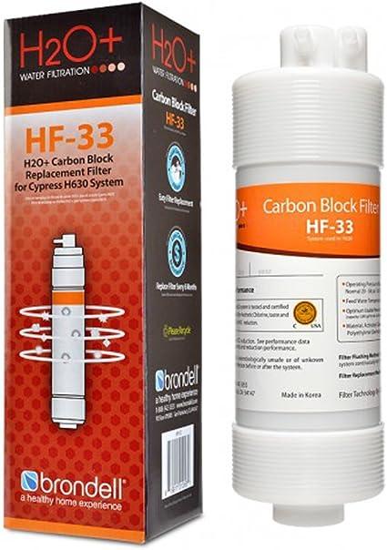 Brondell HF-32 H2O plus Cypress Nanotrap Filtro: Amazon.es ...