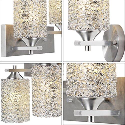 Wandmontiert Wandleuchte LED Aluminium Nachttischlampe Wandleuchte Einfache moderne Schlafzimmer Wandleuchte Aisle Staircase Wandleuchte ( Farbe : A ) A