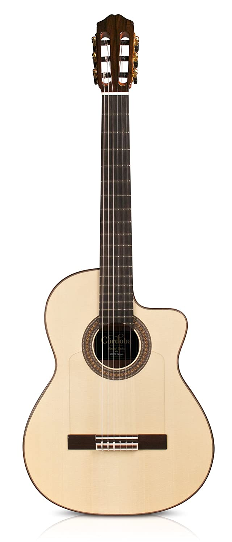 Cordoba クラシックギター スペイン製 シンライン エレガット ESPANA シリーズ 55FCE Negra FCWE Negra  B00JST5CRA