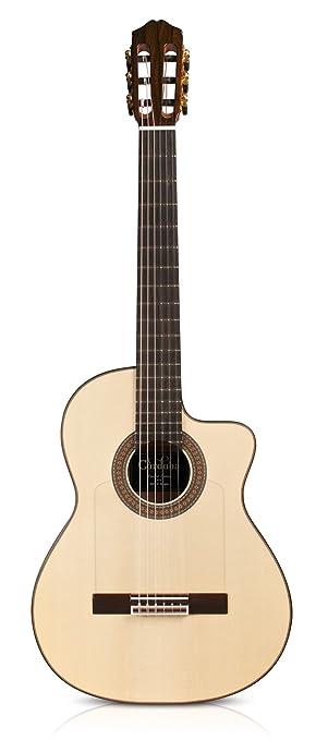 Cordoba Gk Studio Negra Ltd Guitare Flamenco Electro Guitares électro-acoustiques Housse