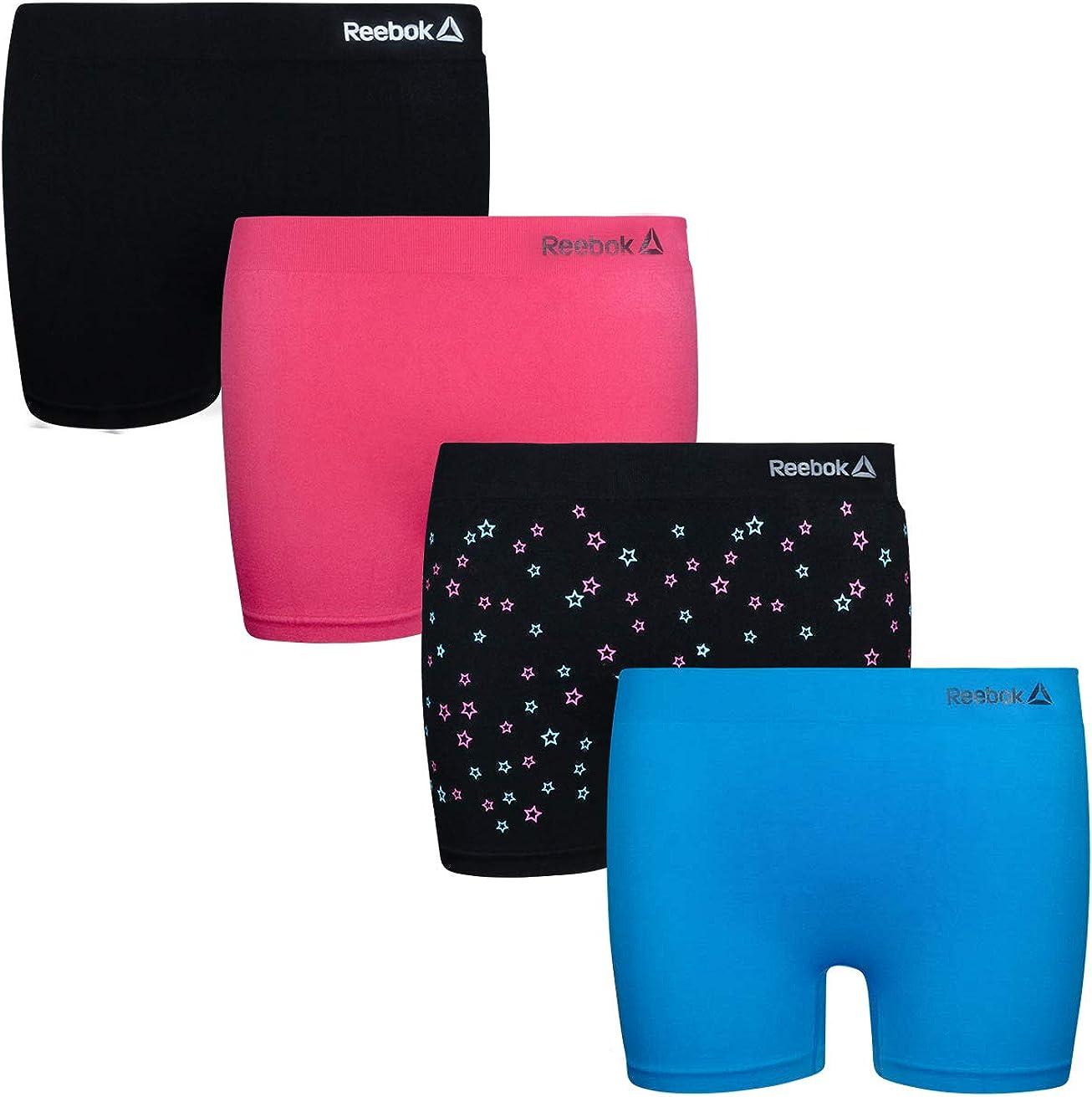 4 Pack Reebok Girls Active Seamless Cartwheel Shorts