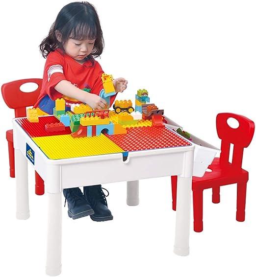 Mesa de Juego Juguetes De Bloques De Construcción para Niños Mesa ...