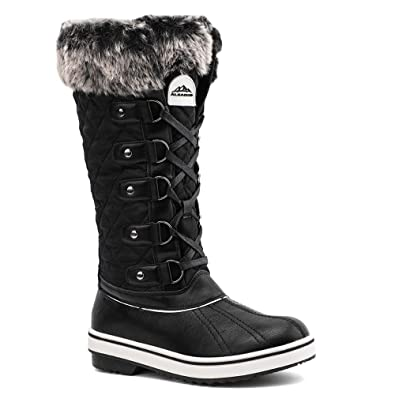 huge range of distinctive style choose official ALEADER Women's Waterproof Winter Snow Boots