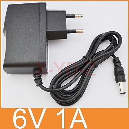 AC 100V-240V Converter Adapter DC 6V 1A 1000mA Power Supply US DC 4.8mm ×1.7mm