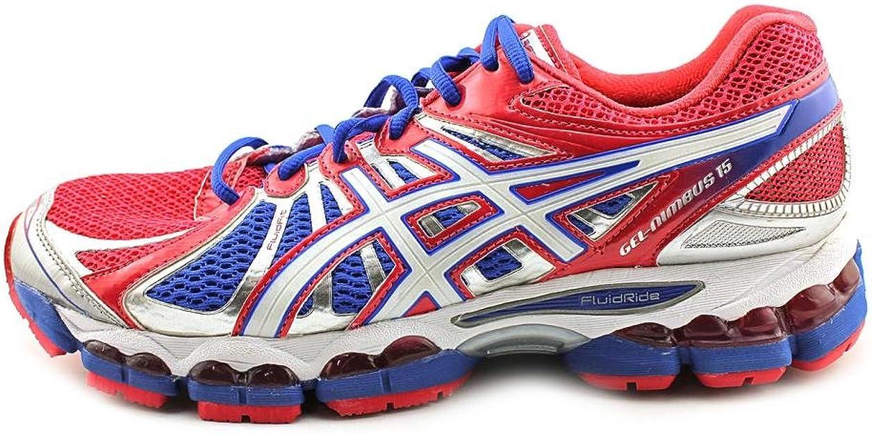 Asics Gel-Nimbus 15 Mujer Rojo Deportivas Zapatos Talla EU 38: Amazon.es: Zapatos y complementos