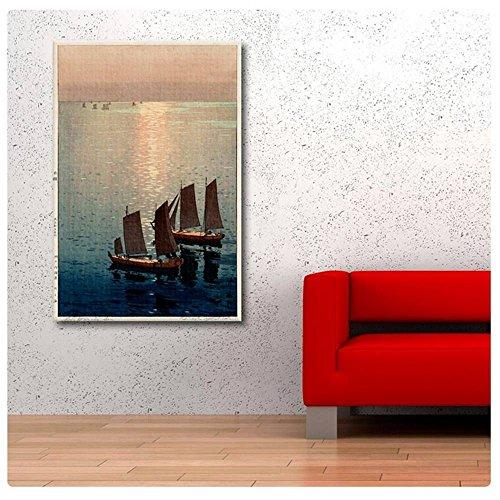 Alonline Art - Sparkling Sea Hiroshi Yoshida POSTER PRINTS R