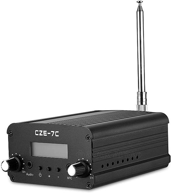 Stereo Fm Transmitter Mini Radio Broadcast Pll Station Elektronik