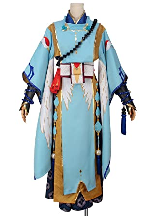 Cosplayonsen Onmyoji Abe No Seimei Cosplay Costume Full Set (Men S)