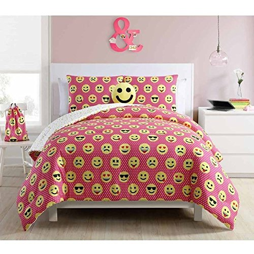 Emoji Twin Bed Set