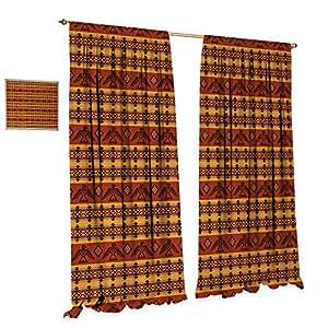 Amazon Com Native American Window Curtain Drape