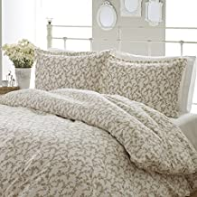 Laura Ashley Victoria Flannel Duvet Cover Set, King