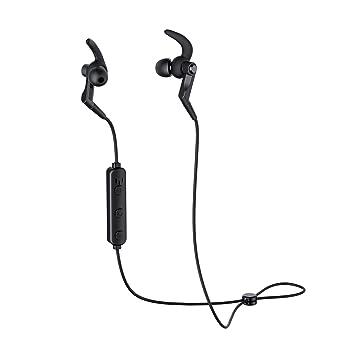 AUKEY Cuffie Bluetooth Sportive Auricolari Wireless con Microfono  Incorporato 1ee3e0234f5b