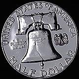 1960 - SILVER - GEM PROOF (PR63 PLUS) - FRANKLIN HALF DOLLAR