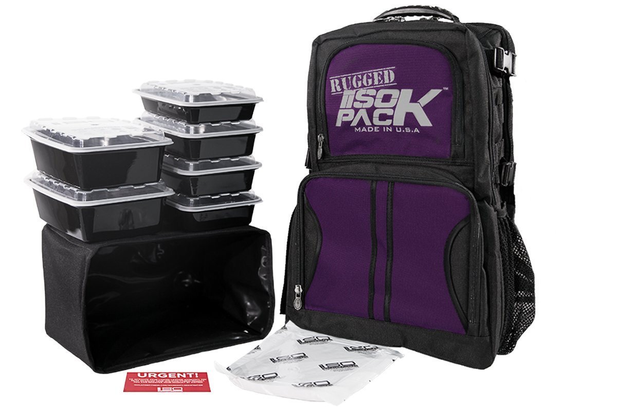 Rugged Pack (Purple accent)