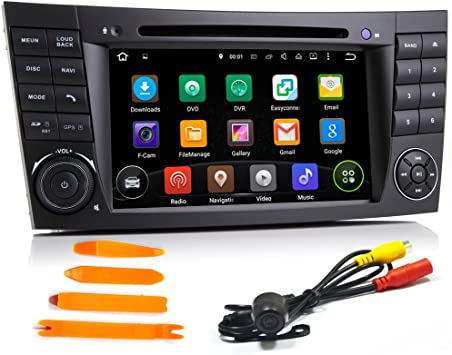 Android 5 1 1 17 8 Cm Auto Dvd Player Für E Klasse W211 Mercedes Benz W209