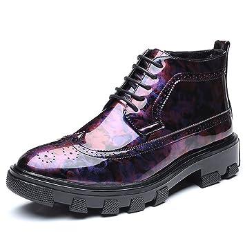 a0ece0a9c0b9c1 Easy Go Shopping Chaussures de Ville pour Hommes Bottes de Ville  décontractées Anti-dérapantes en