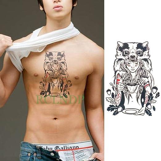 5pcs Impermeable Etiqueta engomada del Tatuaje Eagle Wings Tatto ...