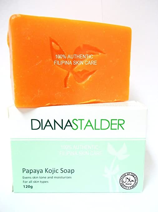 Diana Stalder Papaya Kojic Acid Whitening Soap