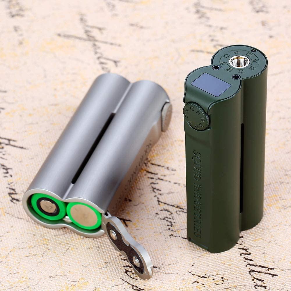 E Cigarette Squid Industries Doble barril V3 150W VW MOD Cuenta ...