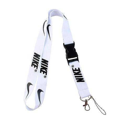 Amazon.com: Llavero con clip de cordón negro con correa ...