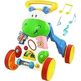 YeahiBaby Andador de Juguete con Música para Bebés Primeros Pasos ...