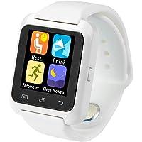 Smartwatch U8 Color Blanco Bluetooth Reloj Inteligente - Compatible iOS / Android