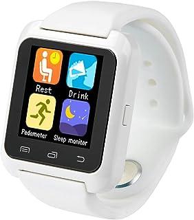 3dfc56ae461d Smartwatch U8 Color Blanco Bluetooth Reloj Inteligente - Compatible iOS    Android