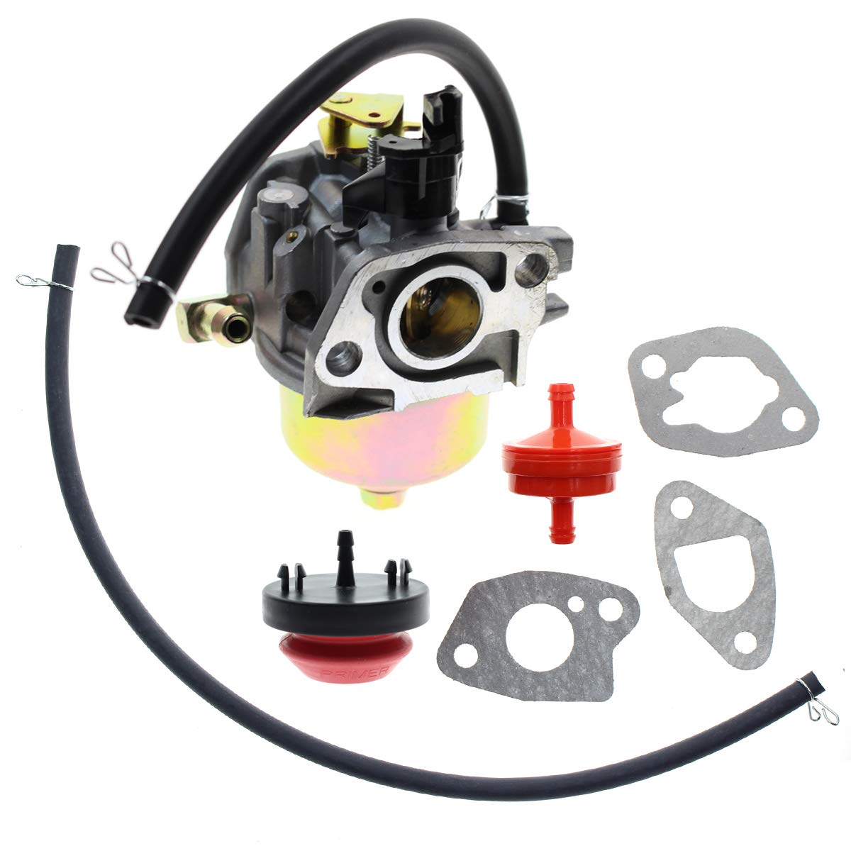 Carbhub 170S HUAYI Carburetor for HUAYI 170SA Yard Machine Snow Blower MTD 951-10368 951-10638A 751-10638 751-10638A 951-14026A 951-14027A - Troy Bilt Carburetor Replace 951-10638A Carbour