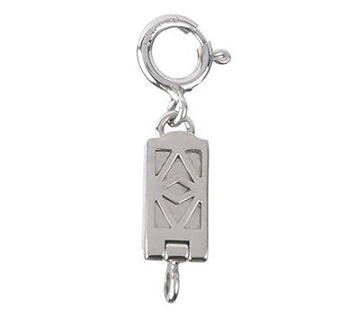 Amazoncom Clicksecure 14K White Gold selflocking magnetic jewelry