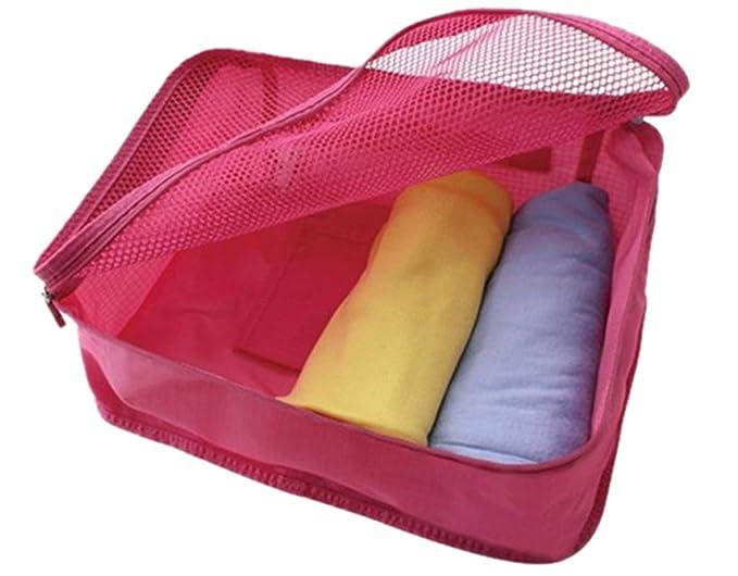 831172a2a28a Amazon.com: BONAMART Folding Travel Toiletry Kit Cosmetic Storage ...