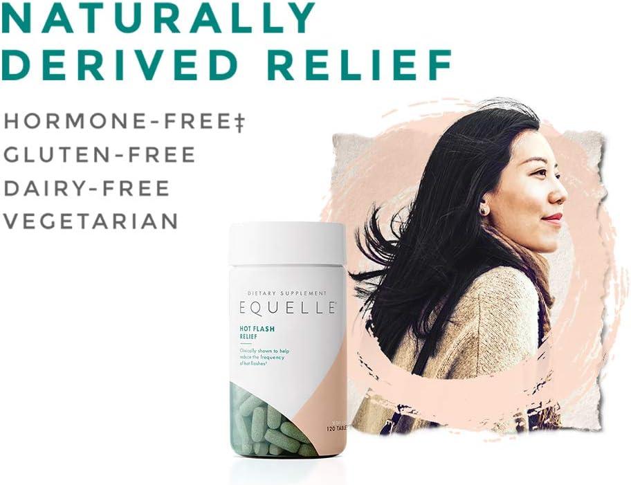 EQUELLE Hot Flash Menopause Relief | Hormone-Free Multi-Symptom Menopause Relief