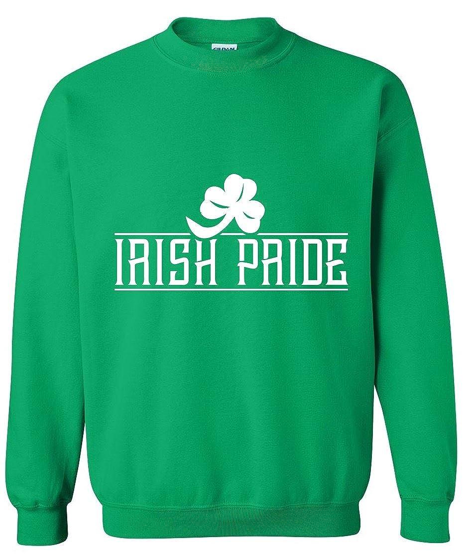 Patricks Day Irish Pride Unisex Sweater Sweatshirt Adult Crewneck Saint ST