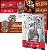 Cleopatra  and  Mark Antony Coin Pack %2