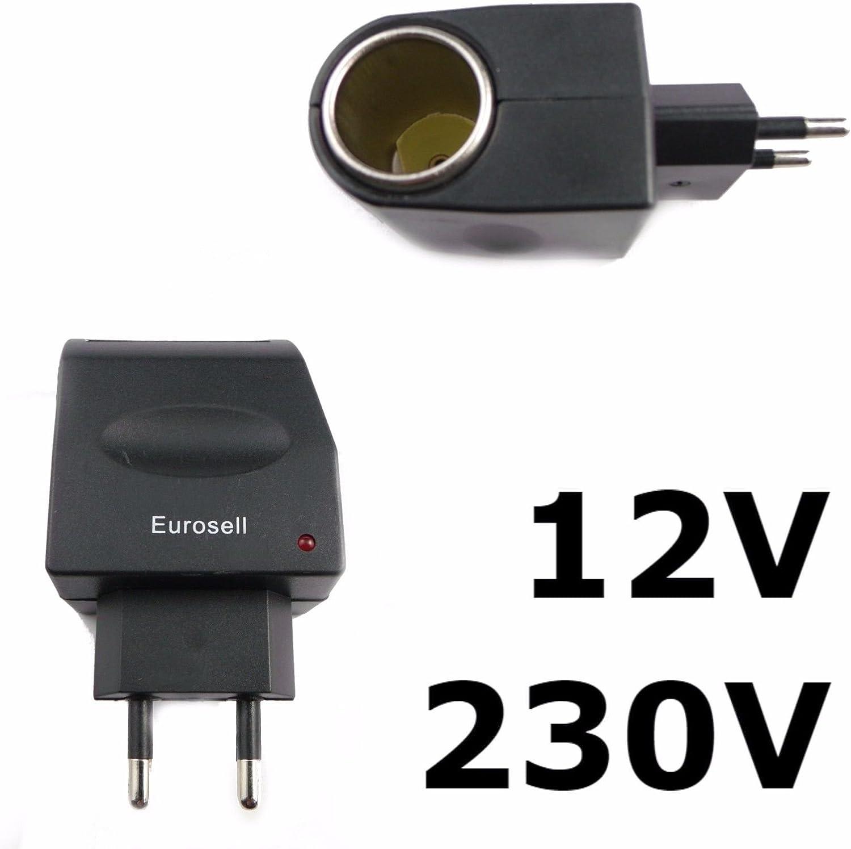 Netzadapter 230v 12v Kfz 230 V Heim Strom Netz 12 V Elektronik