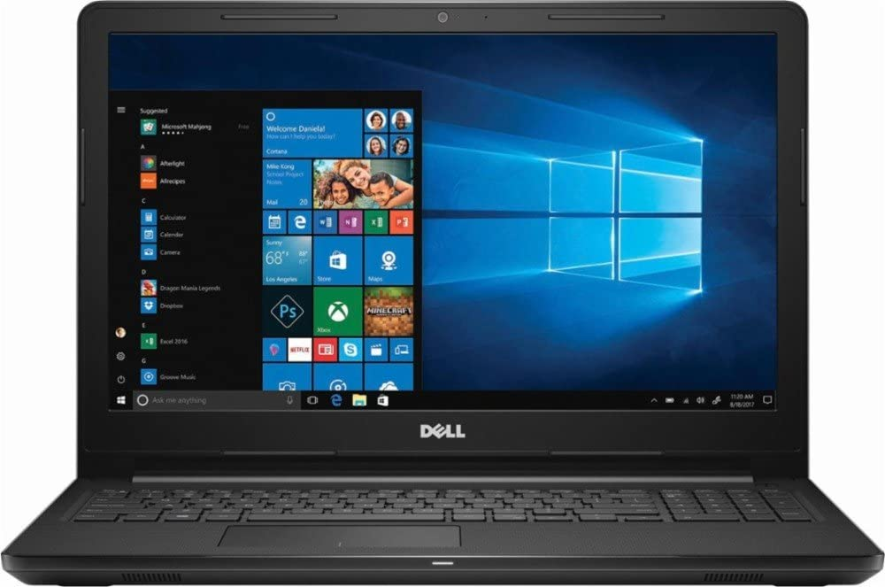 2018 Dell Inspiron 15 15.6 Inch Flagship Notebook Laptop Computer (Intel Core i5-7200U 2.5GHz, 8GB DDR4 RAM, 256GB SSD, MaxxAudio Sound, Intel HD Graphics 620, HD Webcam, Windows 10)