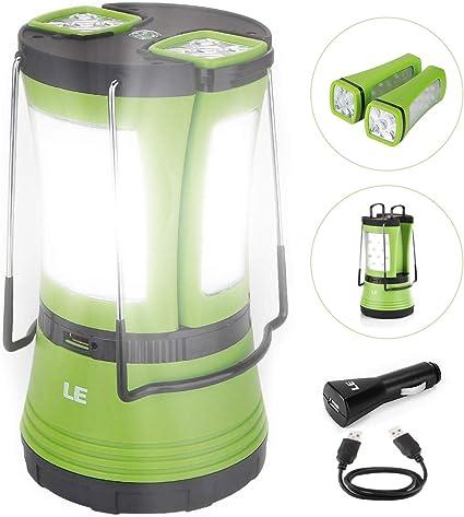Amazon.com: Linterna LED recargable de 600 lúmenes, linterna ...