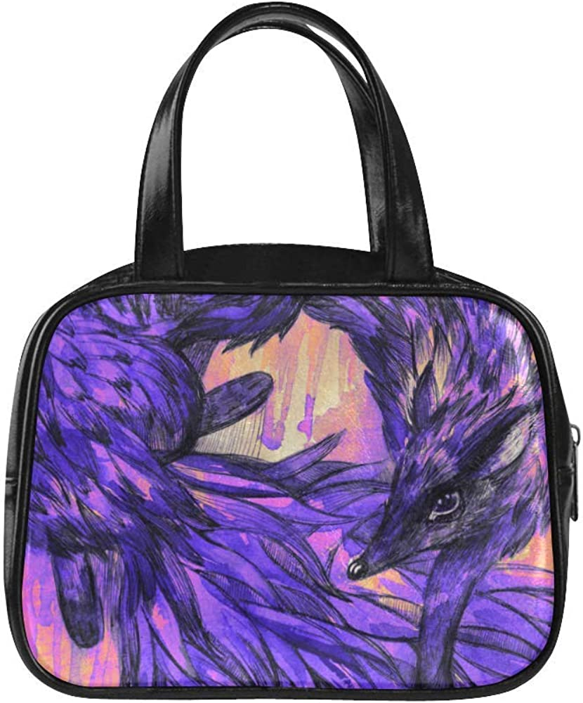 Zebra Enamel Design Leather Purse with Zipped Compartments RFID Protected Ladies Gift