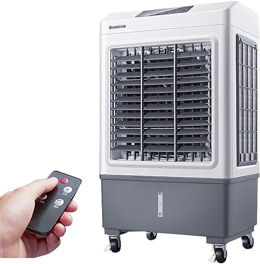 Climatizadores evaporativos Climatizador Evaporativo Climatizador Portátil Frío Fresh Essence Ventilador De Torre con Aromatización del Aire (Color : Gray, Size : 50 * 34 * 88cm): Amazon.es: Hogar