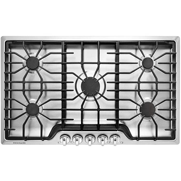 "Frigidaire FFGC3626SS 36"" ADA Compliant Built-In Gas Cooktop With 5 Sealed Burners"