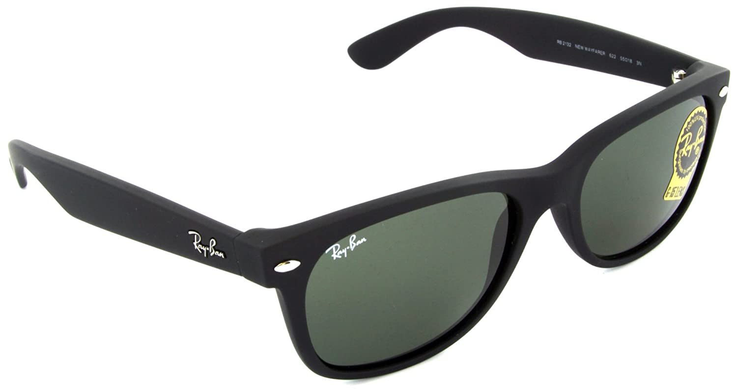 Ray-Ban RB2132 622 New Wayfarer Sunglasses 55MM