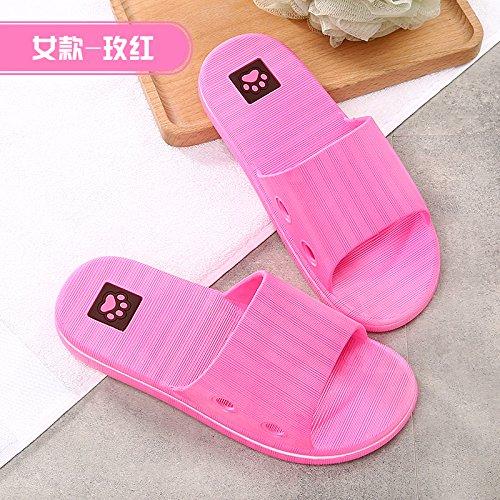 pantofole morbido pavimento Per YMFIE dei indoor estate gli gules pantofole Signore' amanti 8IwqxwzdH