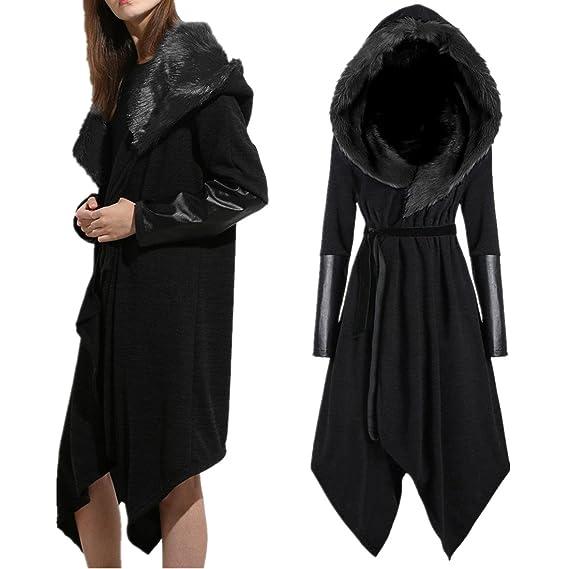 the best attitude 504f7 2ba05 Mantel Damen Kolylong® Frauen Elegant Lang Mantel mit ...