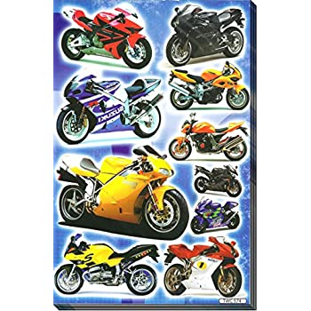 Amazoncom MultiColored StickersMotorcycle Mania Arts Crafts - Car sticker decal for girlsgirl motorcycle promotionshop for promotional girl motorcycle on