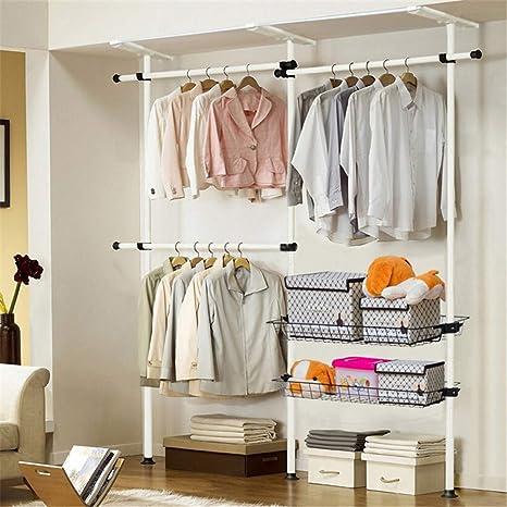 Amazon.com: Armario telescópico para colgar ropa ...